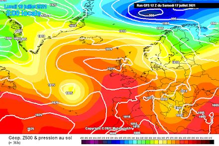 Ισχυρά φαινόμενα αναμένονται αύριο τις θερμές ώρες της ημέρας στα κεντρικά και βόρεια τμήματα της χώρας