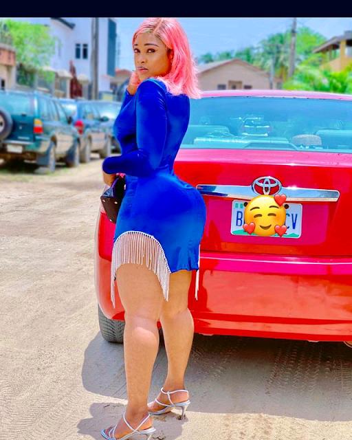 Nollywod sweetheart Princess Chidimma appreciates the power of curvy beauty photo