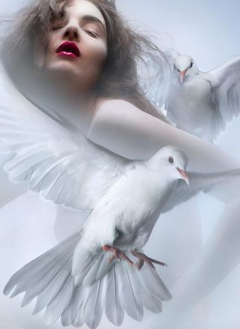 Girl And Doves, Angels 5