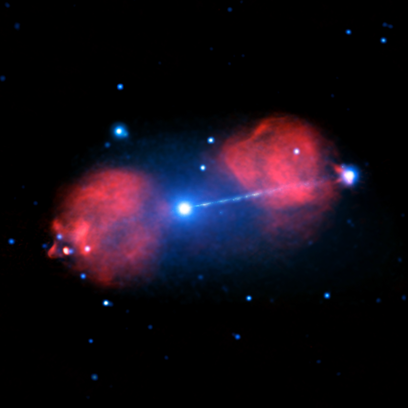 radiogaláxia Pictor A