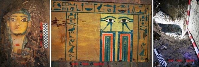 Nova descoberta Túmulo intacto descoberto em Assuão 01