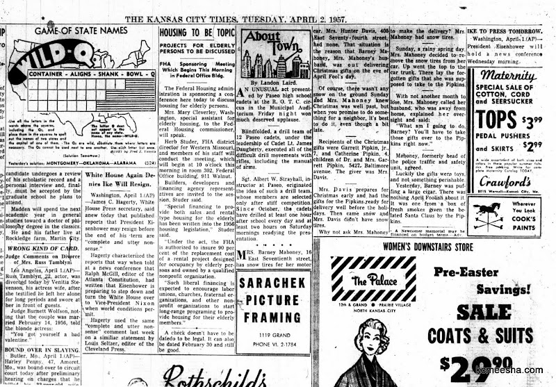 Old Newspapers: Random Old Stuff