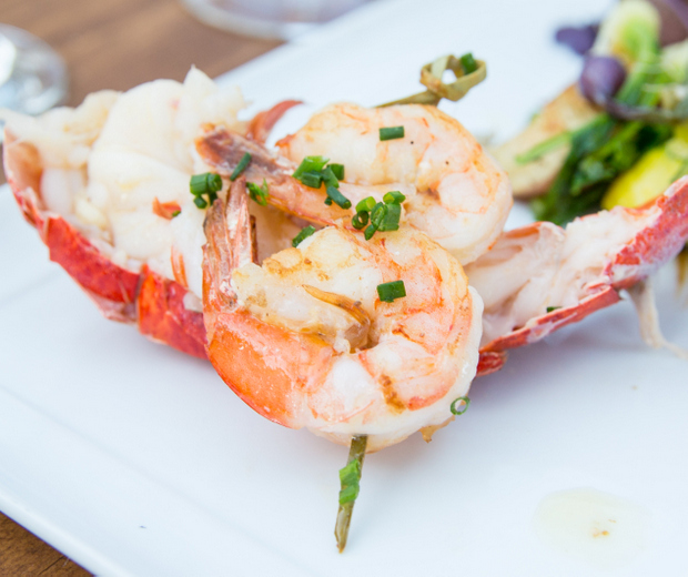 photo of Butter Poached Lobster Tail with shrimp