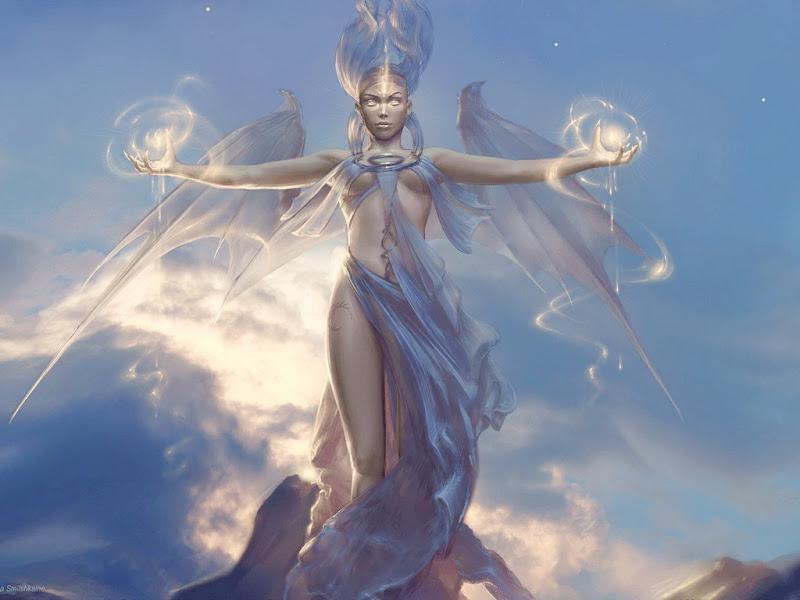 Goddess Of Light, Goddesses