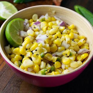 Cilantro Lime Corn Salsa.