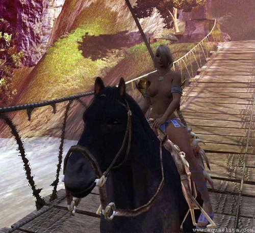 Лошадь в Age of Conan