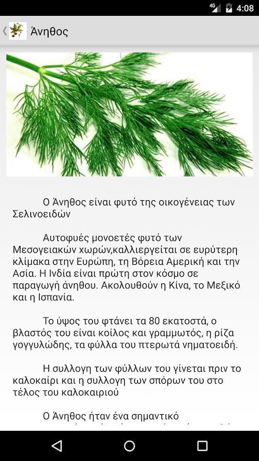 Aromatic Plants Of Greece - στιγμιότυπο οθόνης