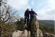 Peña La Uña mendiaren gailurra 812 m. -- 2016ko martxoaren 13an