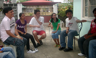 March 1: Sir Jeff introduces Dianne's classmates to her mother and brother.