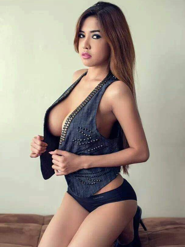 Pinay busty model nude