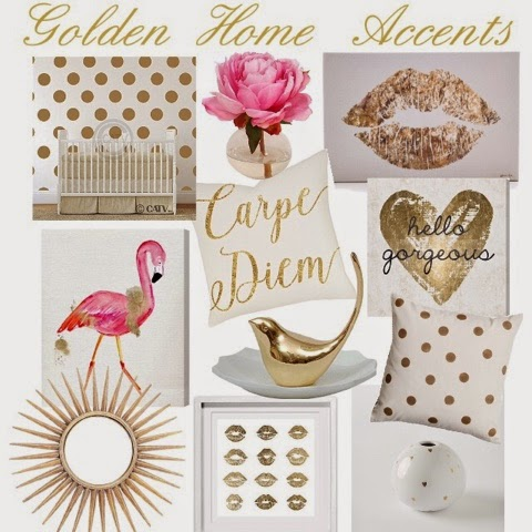 Golden Home Accents