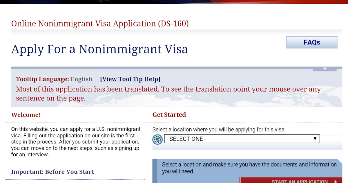Mindy's Corner: My Good Experience in U S  Nonimmigrant Visa