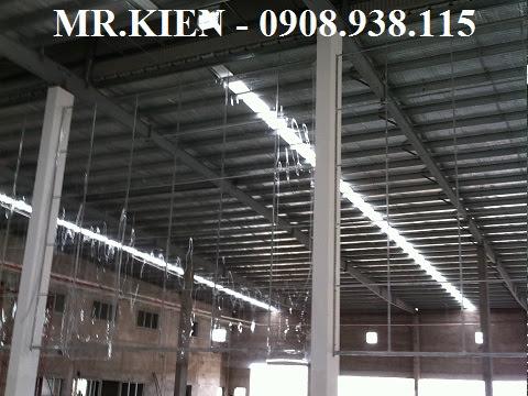 Vách Rèm nhựa PVC
