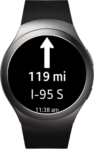 PC u7528 Navigation Pro: Google Maps Navi on Samsung Watch 2