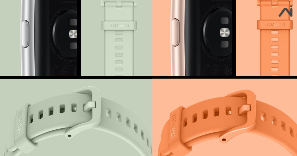 เปลี่ยนลุคได้ตามอารมณ์ HUAWEI Watch Fit วางจำหน่ายสายนาฬิกาแล้วทั้ง 4 สี เพียง 349 บาทเท่านั้น!