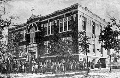 1912 Blessing Of St Joseph Orphanage Bethany Oklahoma