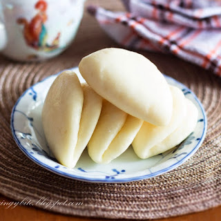 Lotus Leaf Bun / Foldover Bun Makes 18 buns