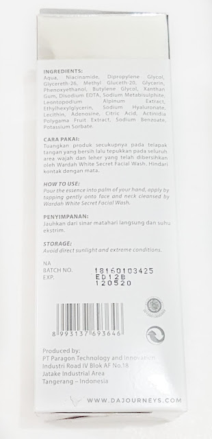 [Review] Wardah White Secret Pure Treatment Essence