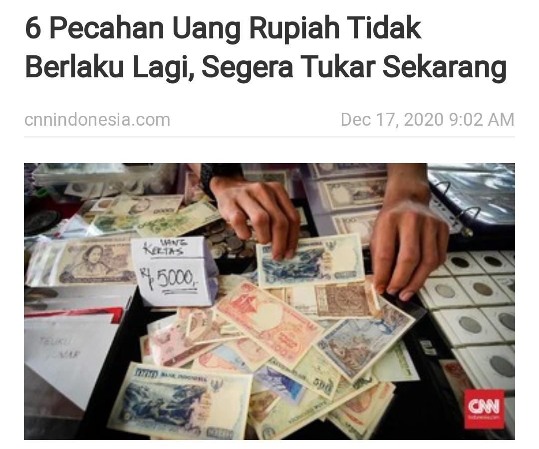 Uang Kertas Terbuat Dari Kaca ?