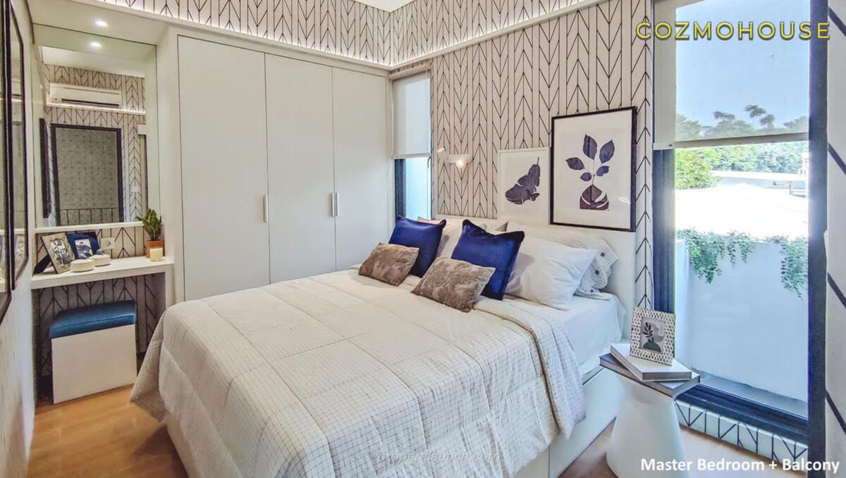 Show Unit Rumah Cozmo House Myza BSD - Master Bedroom