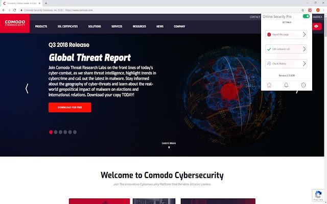 Webhely-információk áttekintése az Adathalászat elleni védelem segítségével