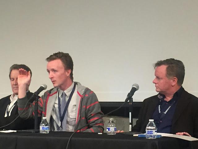 Actor Paul Cram at MSPIFF Panel