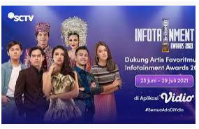 Vote Infotainment Awards 2021 Di SCTV