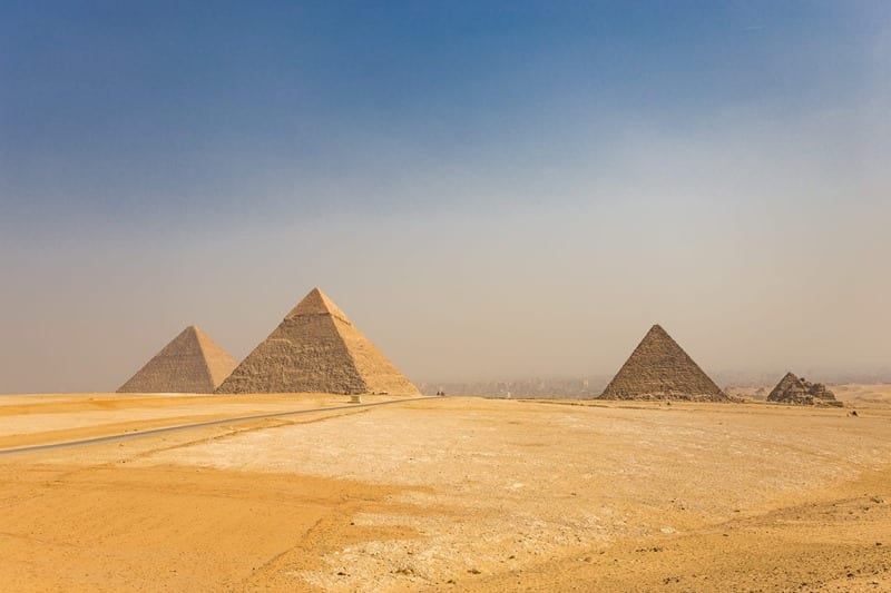 Great Pyramids and Sphinx Egypt Travel Talk Tour