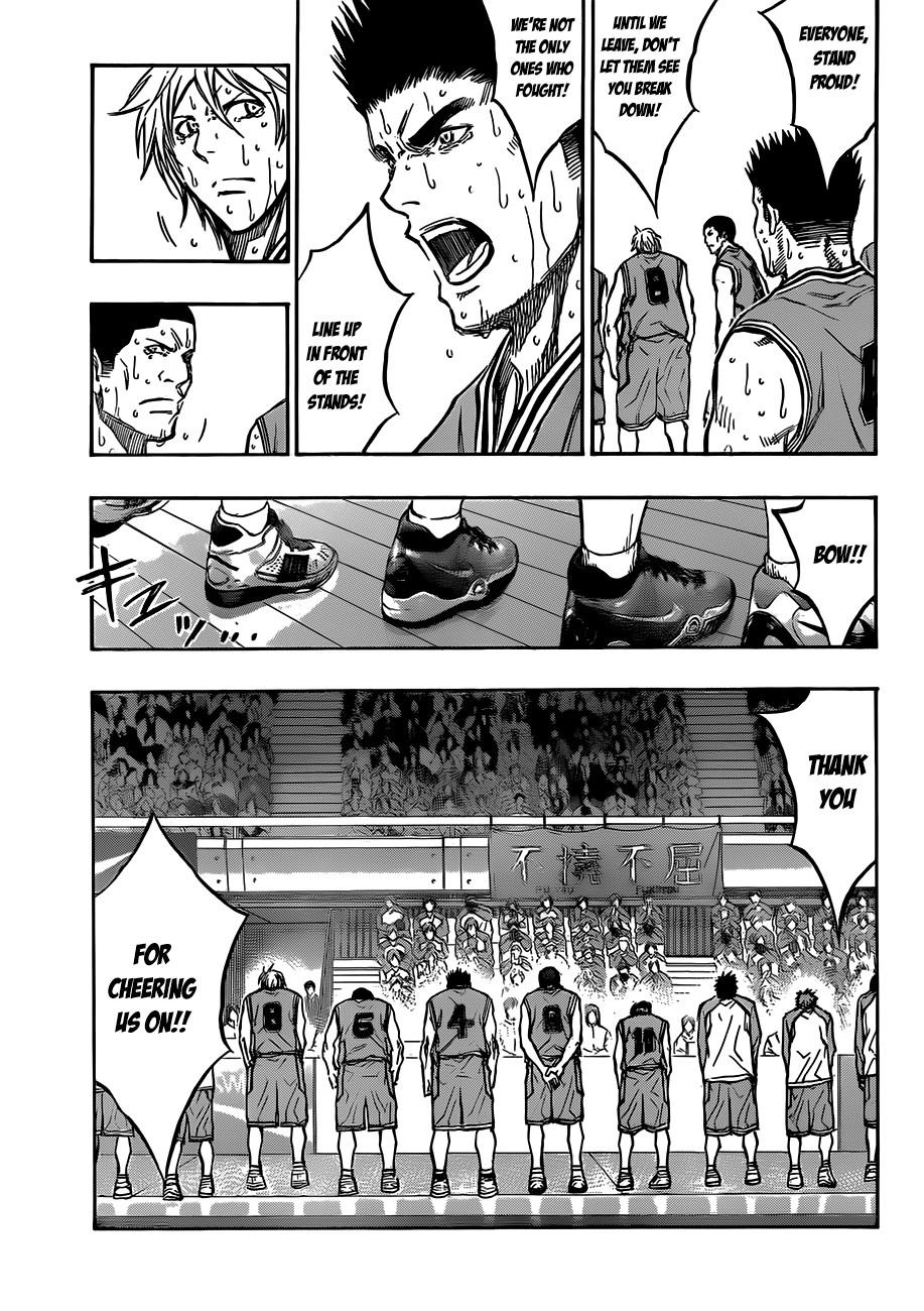 Kuroko no Basket Manga Chapter 183 - Image 07