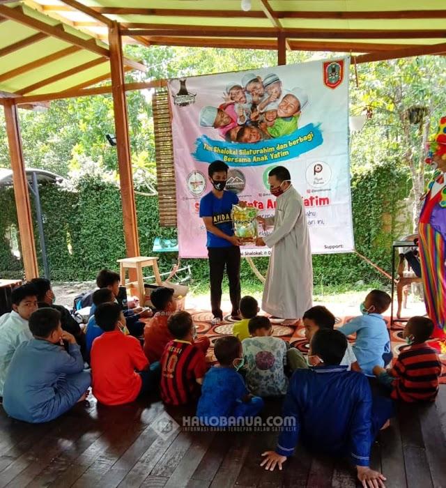 Tim Shalokal.com Berbagi Bersama Anak Yatim Piatu