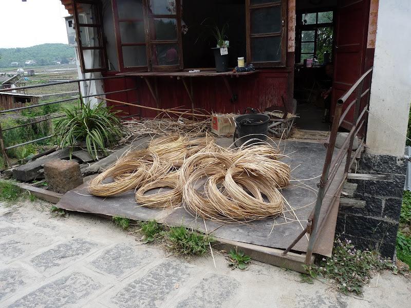 fabrication sièges en bambou