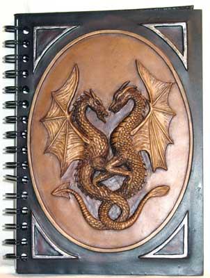 Double Dragon Blank Book Of Shadows, Book Of Shadows