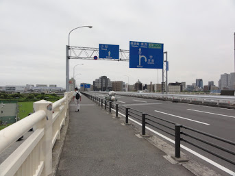 六郷橋 東海道五十三次