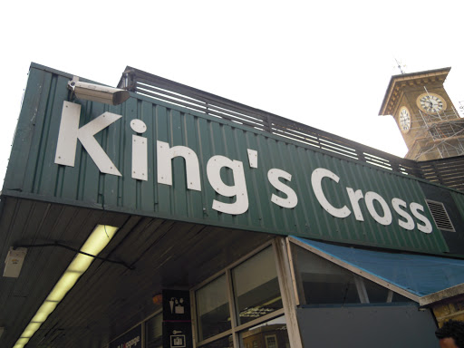 King's Cross Station - from best walking tours in London - HARRY POTTER!