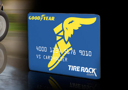 If you already have a Goodyear Credit Card, then you're in luck! You can now use it at Tire Rack, and you can even double your Goodyear rebate if you pay with the card. If you don't already have a card, you can apply for one here. The card isn't just to purchase Goodyear tires. You can use it to purchase anything we have on our website.