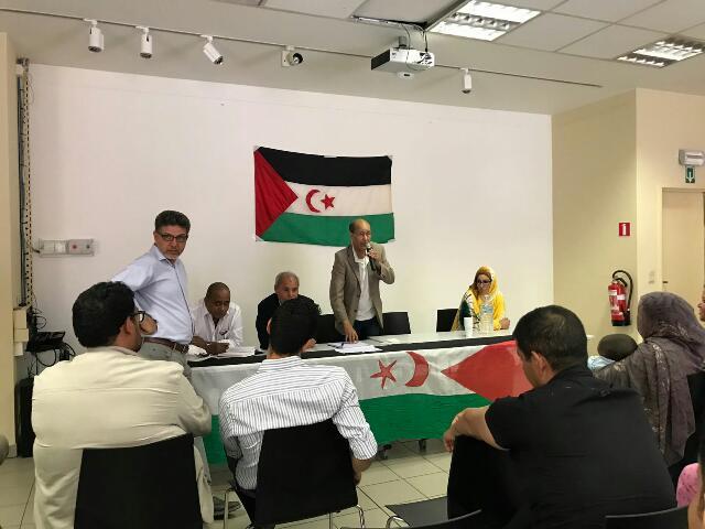 جمعية الجالية الصحراوية ببلجيكا تعقد جمعها العام