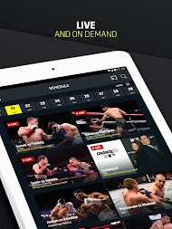 DAZN Live Fight Sports: Boxing, MMA & More APK screenshot thumbnail 9