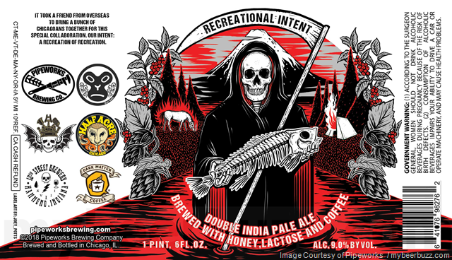 Pipeworks, 3 Floyds, Half Acre, 18th St & More Collaborate On Recreational Intent