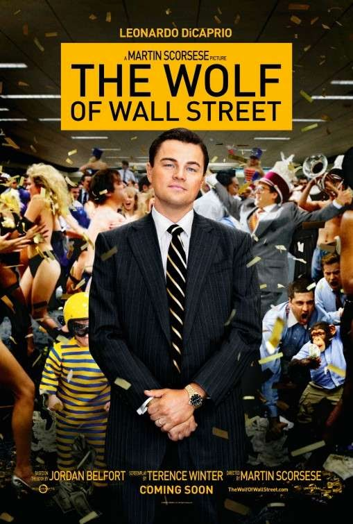 Poster Of English Movie The Wolf of Wall Street (2013) Free Download Full New Hollywood Movie Watch Online At Alldownloads4u.Com