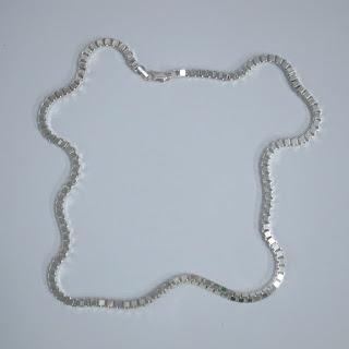 Sterling Silver Box Chain Necklcae