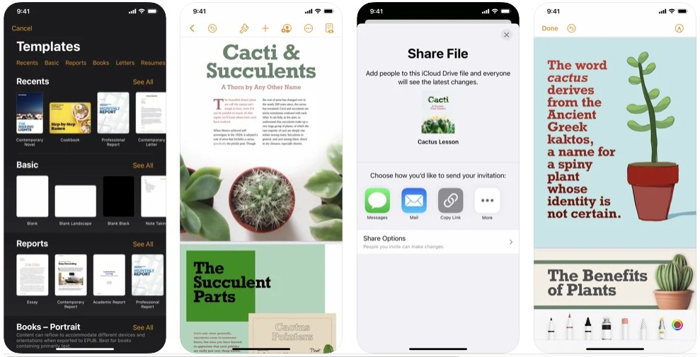 Pages- Documents that stand apart