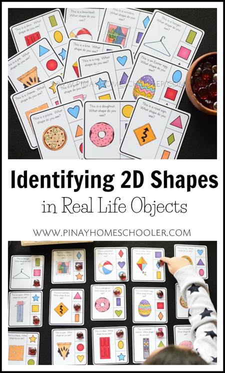 Identifying 2D Shapes in Real Life Objects