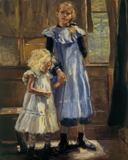Fritz von Uhde - Zwei Mädchen