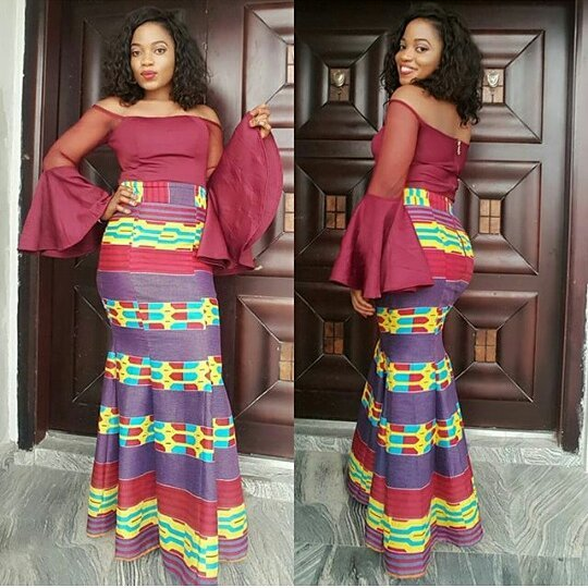 INVENTIVE AND TRENDY MOST RECENT ANKARA OUTFITS FOR WOMEN_ANKARA LONG OUTFITS DESIGNS 3