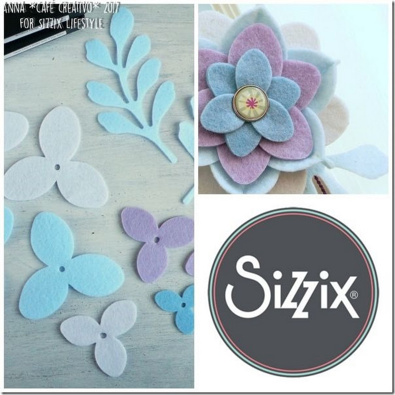 Cafe Creativo: [#Sizzix Big Shot] Crea una decorazione in feltro fai-da-te