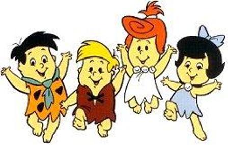 The Flintstones (Los Picapiedras): The Flintstone kids (Los pequeños Picapiedra)