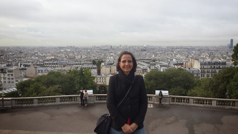 Monica em Paris