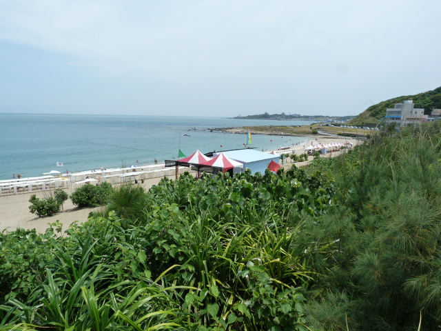 plage de BAI SHA WAN