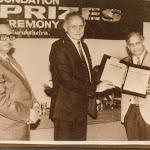 With Dr. Qasim. receiving the Goyal Prize 1993.jpg