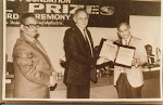 With Dr. Qasim. receiving the Goyal Prize 1993.jpg